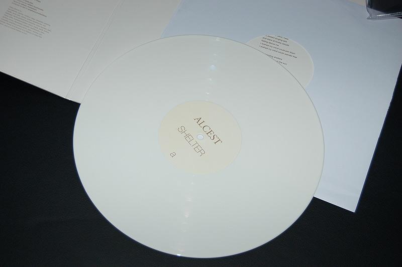 Disque blanc 33 tours LP