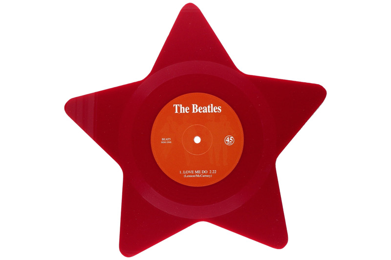 Disque étoile The Beatles