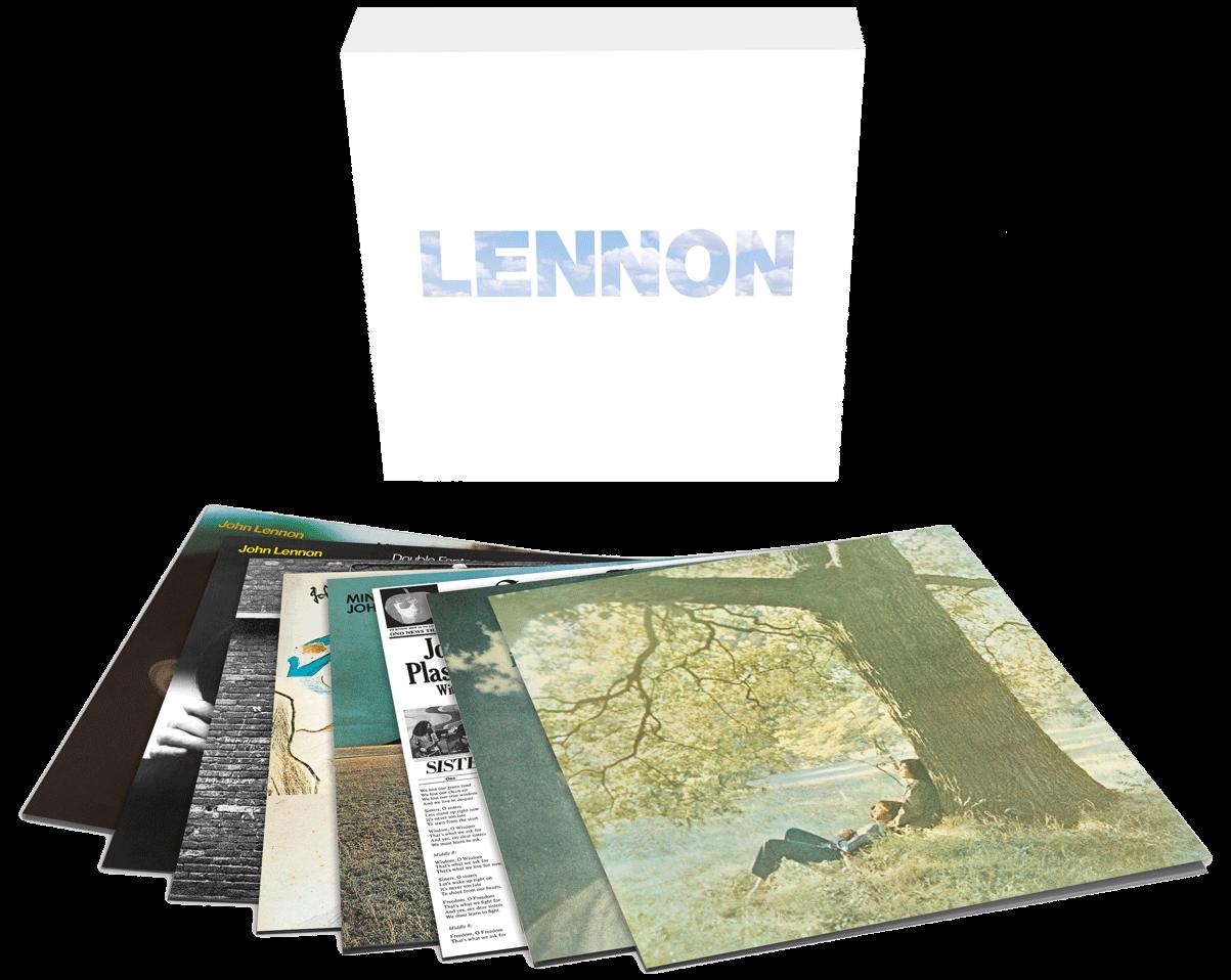Coffret 8 vinyles - John Lennon
