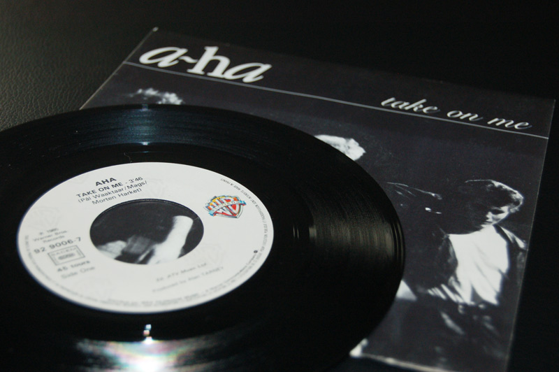 A-ha Take on me Disque vinyle 45 tours