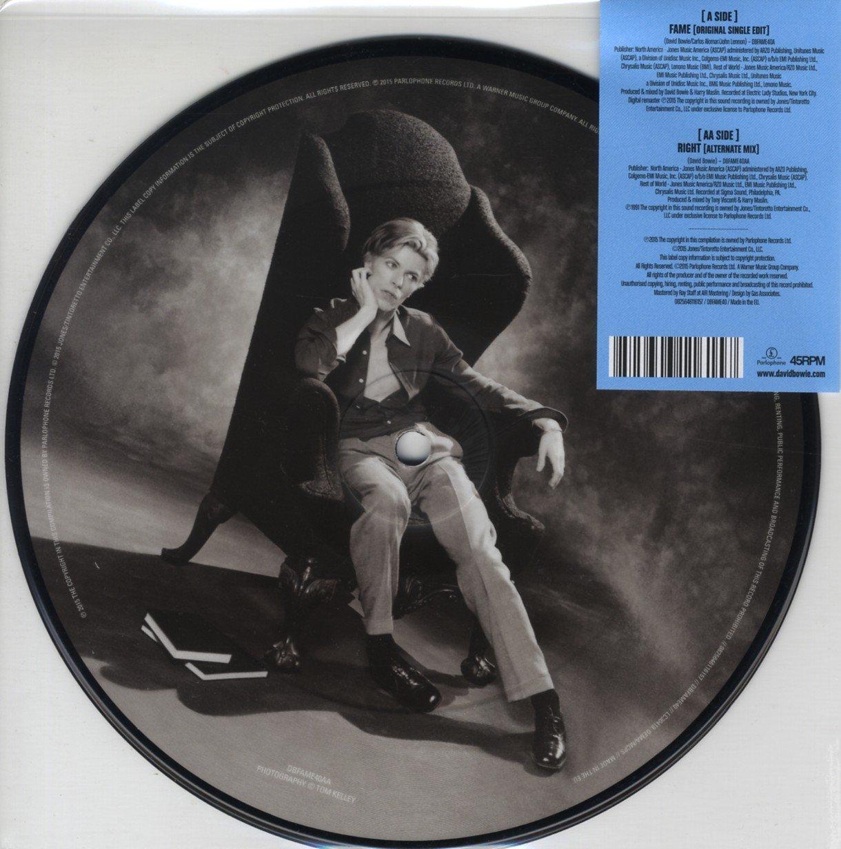 David Bowie Fame - disque vinyle SP 45 tours