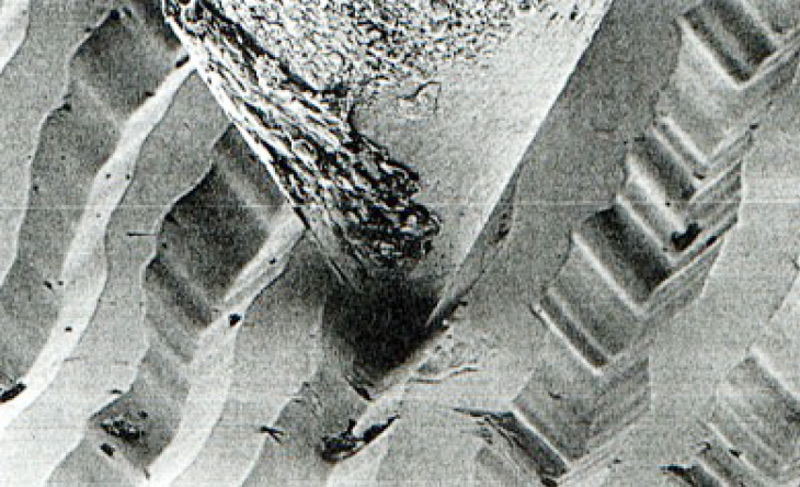 Diamant dans microsillon