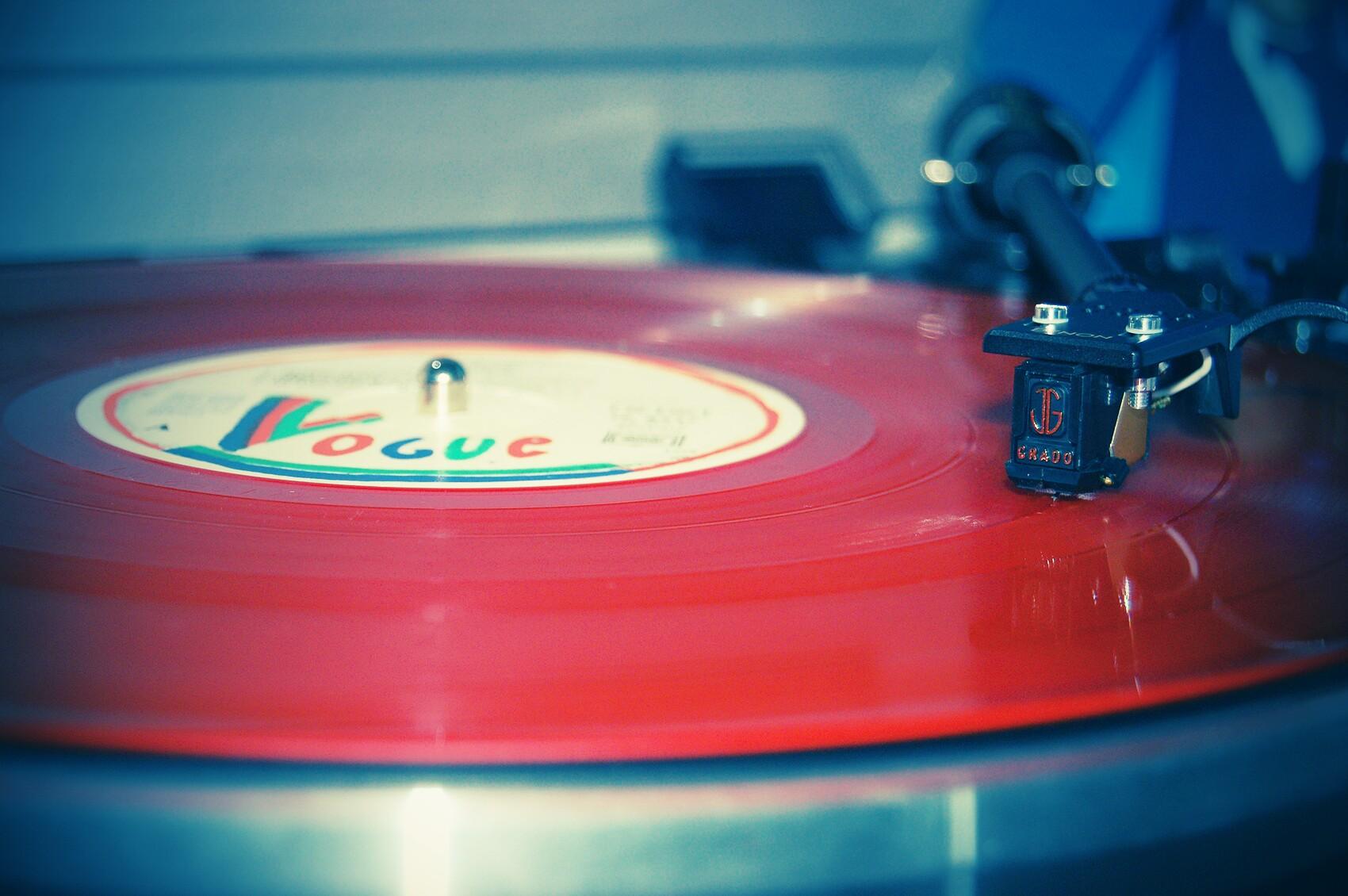 Le disque rouge de Abba Voulez Vous