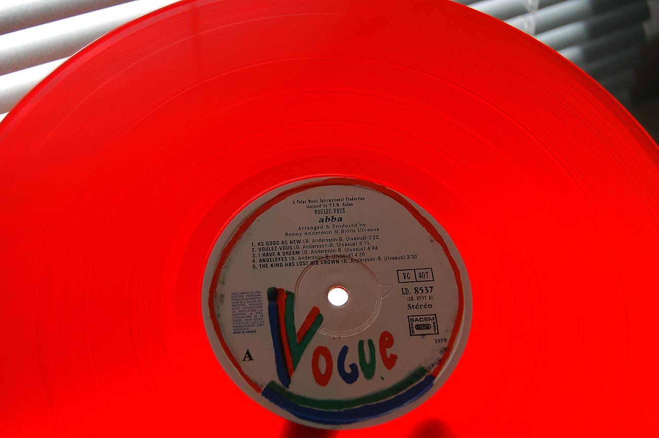 Abba Voulez Vous 1979 Vinyl LP – Limited Color Edition
