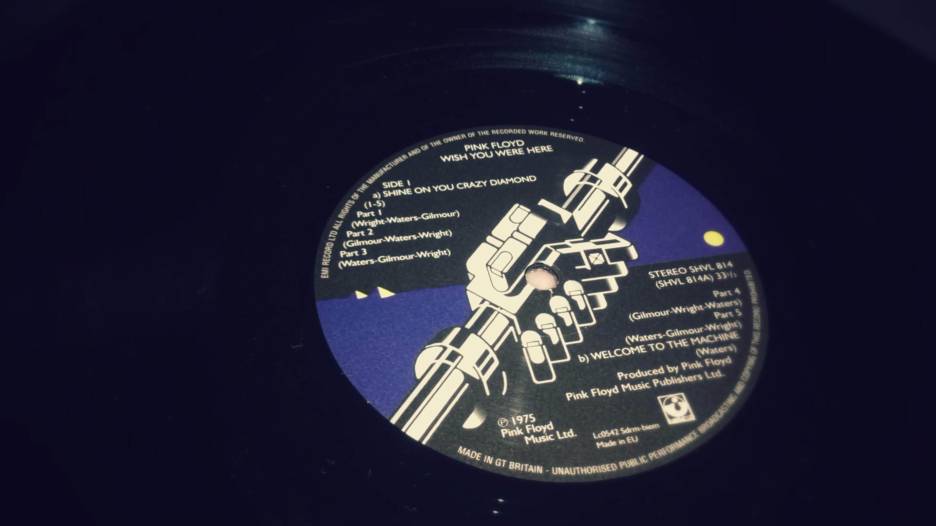Wish You Were Here Pink Floyd Album vinyle LP – Réédition 2011