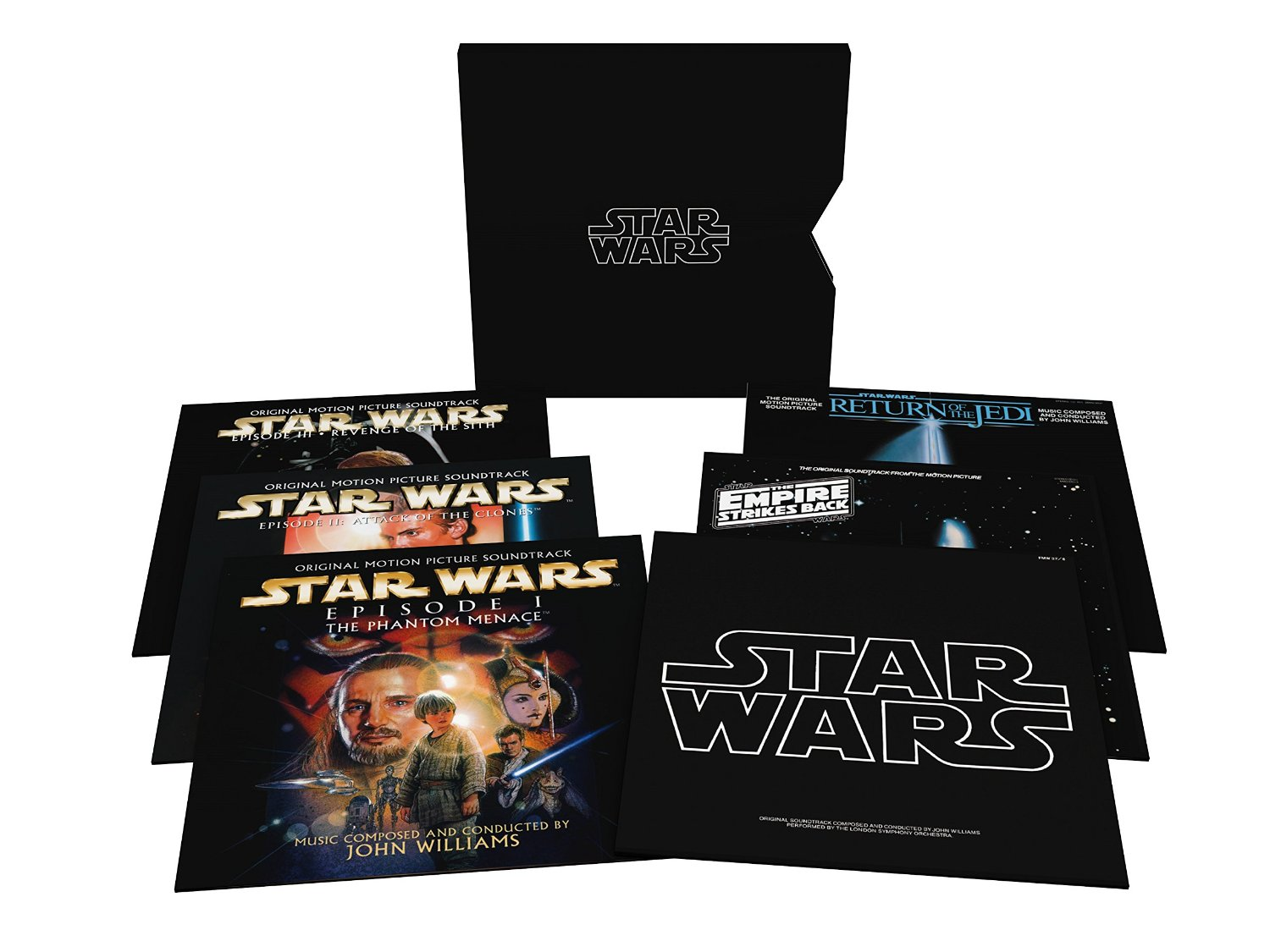 Star Wars-the Ultimate Vinyl Collection...