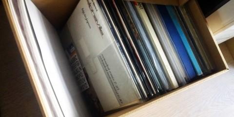 Boites en carton pour ranger vos vinyles