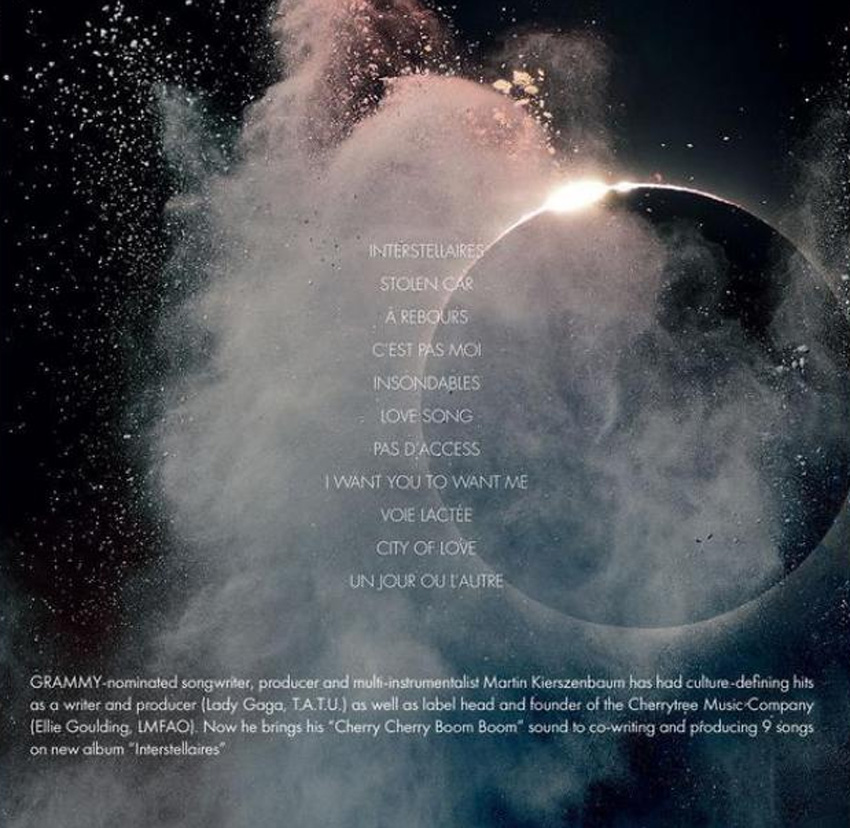 Mylene Farmer Interstellaires - Album 2 vinyles