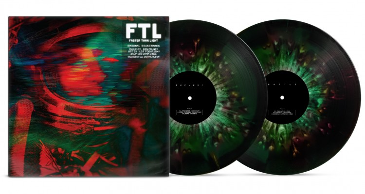 BO FTL : Faster than Light disponible en vinyle