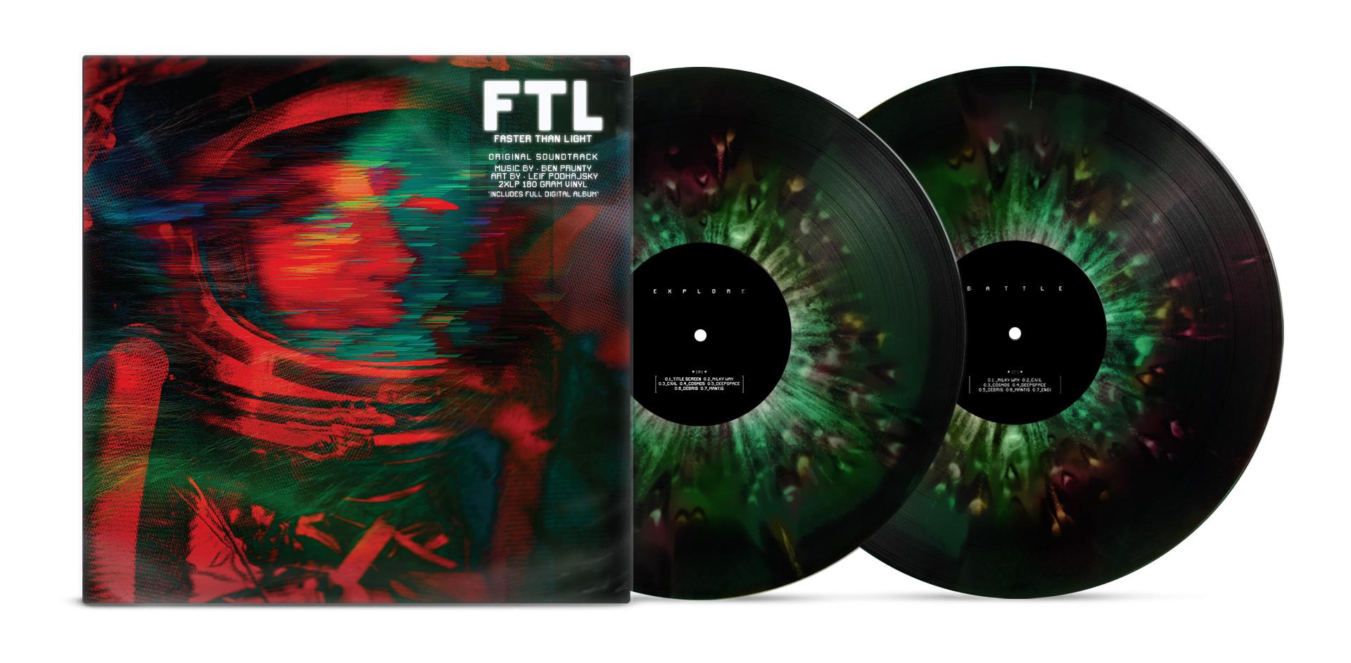 BO FTL : Faster than Light disponible en vinyle