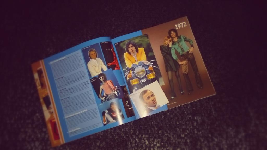 Livre Le grand Hit Parade illustré des années 70