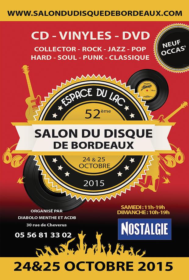 Salon du disque à Bordeaux