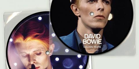 Golden Years David Bowie - 40ème anniversaire - Picture Disc