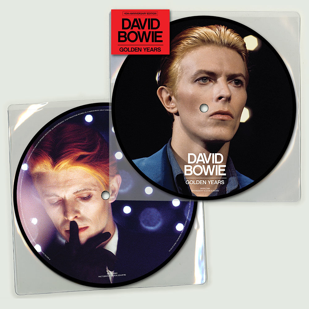 Golden Years David Bowie - 40ème anniversaire - Picture Disc