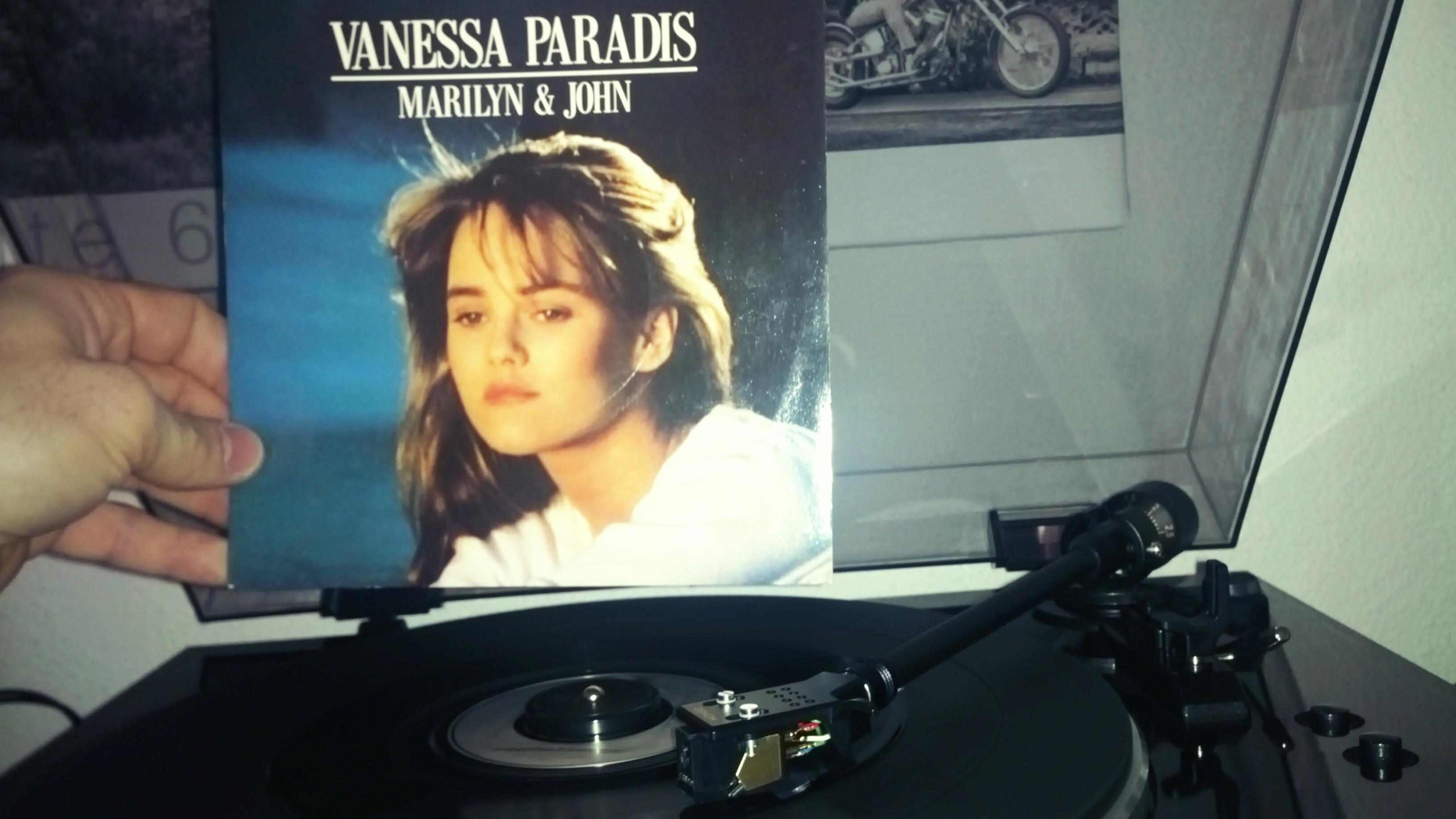Vanessa Paradis Marilyn et John – Vinyle 45 tours SP 1988