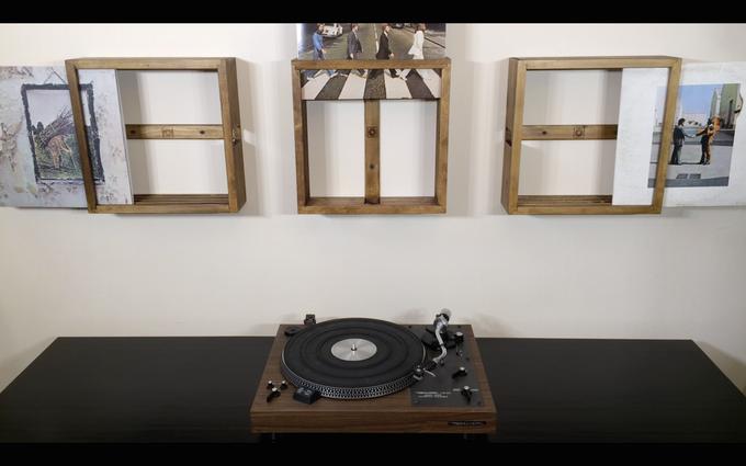 VINYLFRAME Cadres à disques vinyles