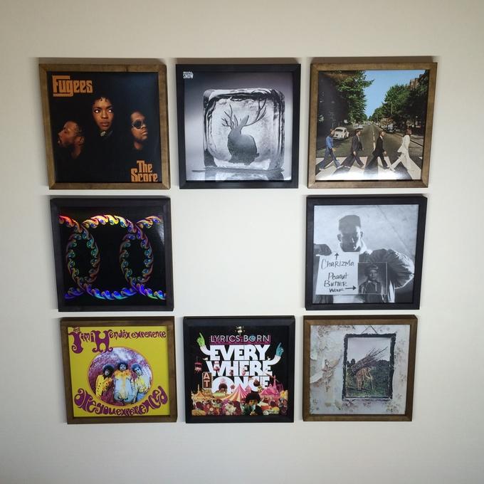 vinylframe un projet de cadres vinyles pour votre maison actu mes disques vinyles. Black Bedroom Furniture Sets. Home Design Ideas