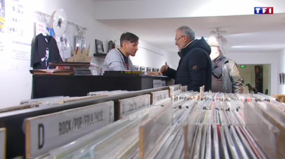 """Reportage tv """"La Folie des vinyles"""""""