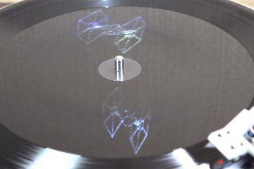 Hologrammes sur disques vinyles Star Wars 7