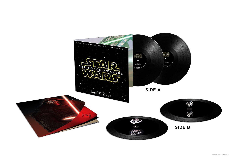 Où se procurer les vinyles Star Wars 7 avec Hologramme 3D ?