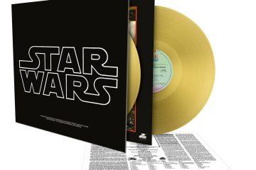 Star Wars Épisode IV - A New Hope - Album 2 vinyles couleur or