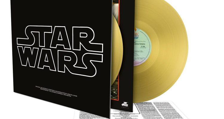 Star Wars Épisode IV - A New Hope - Album 2 vinyles couleur or