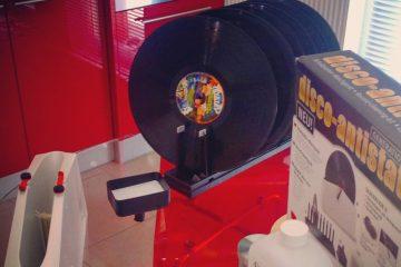 Lavage et nettoyage des disques vinyles
