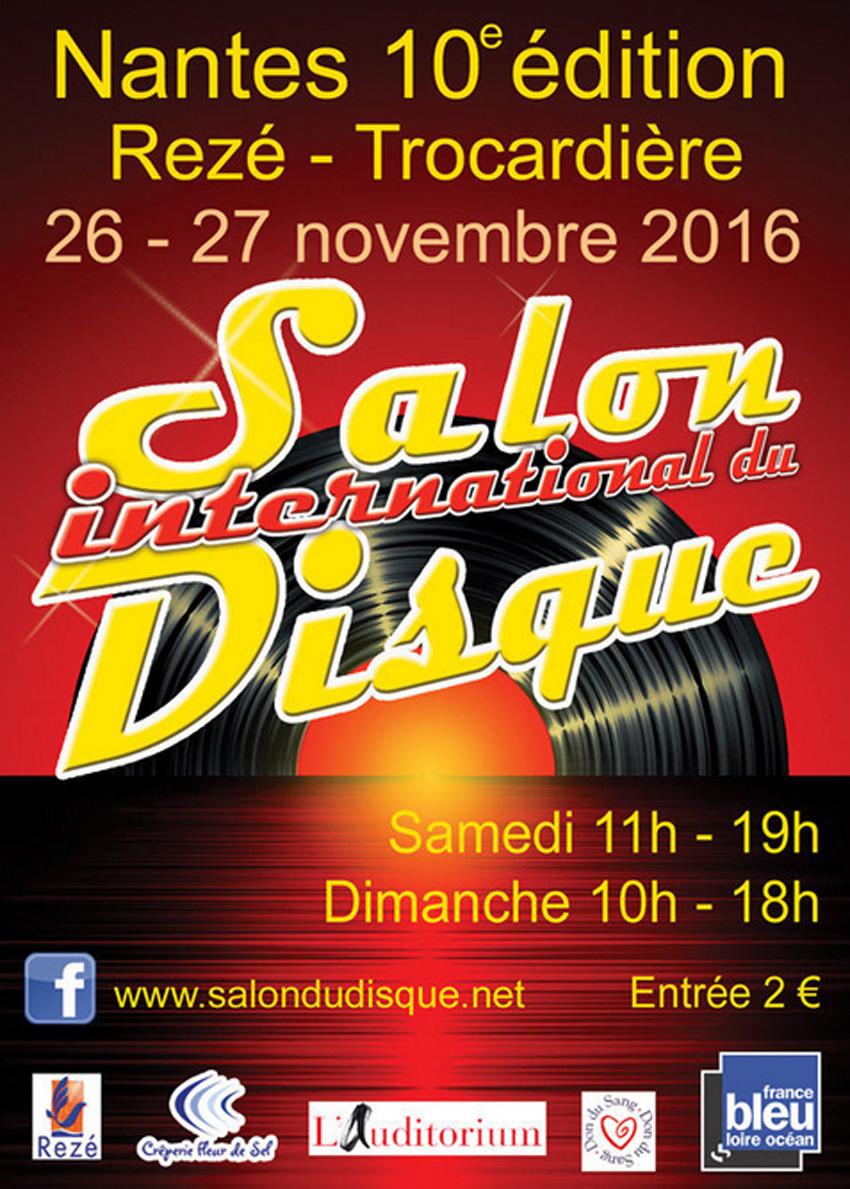 Salon du disque à Nantes - 26 et 27 Novembre
