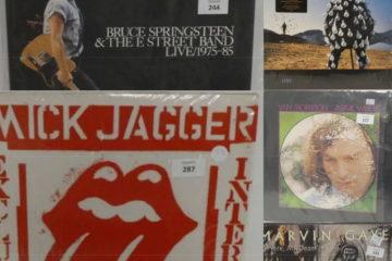 Vente aux enchères de vinyles