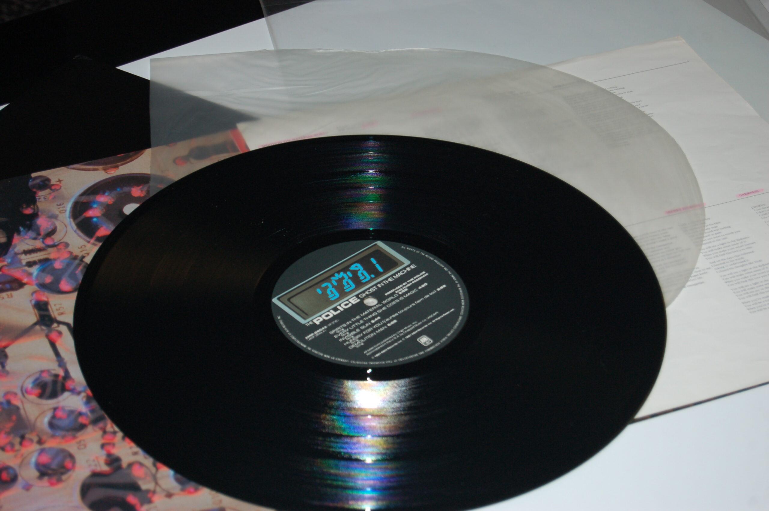 Sous pochette antistatique pour ce disque 33 tours