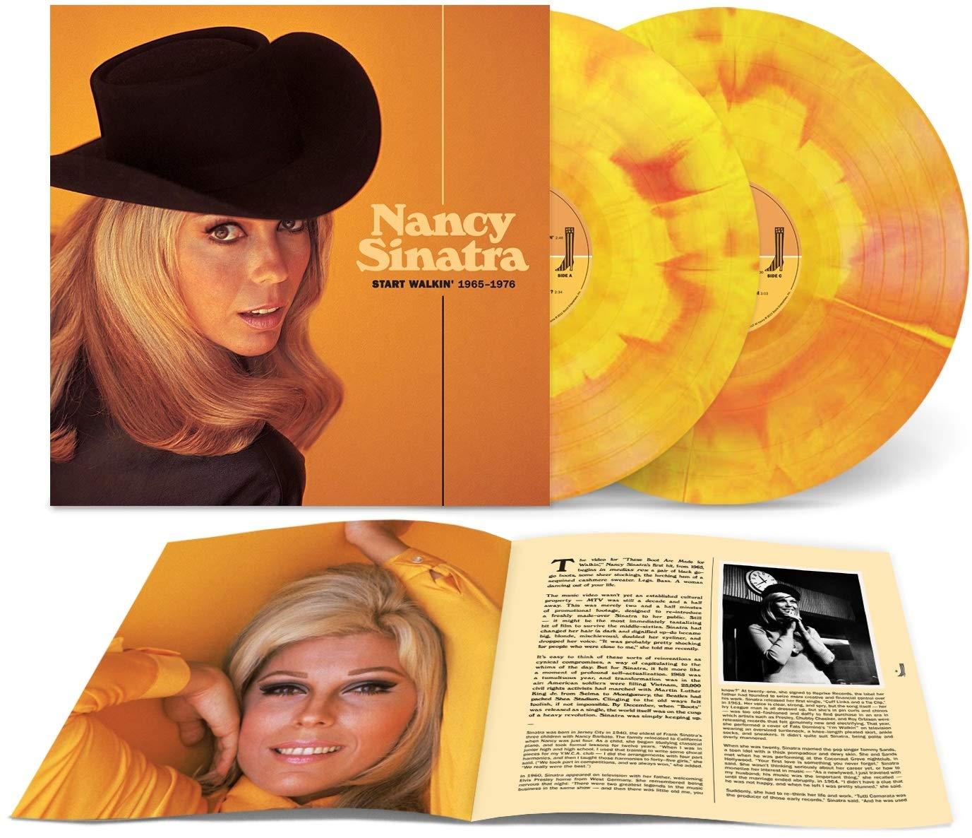 Nancy Sinatra Start Walkin' 1965-1976 - Colored Vinyl [SORTIE]