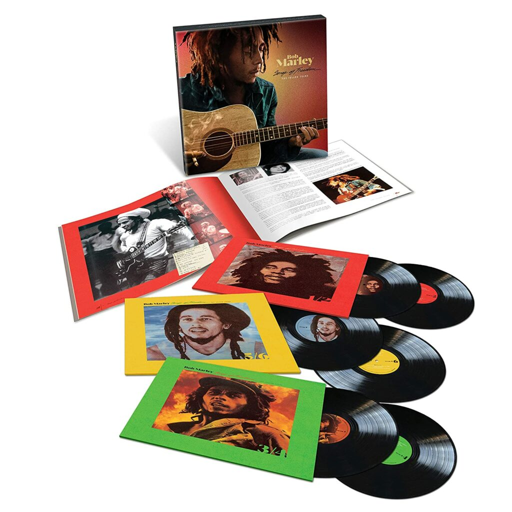 Bob Marley Songs of Freedom un coffret de 6 Vinyles LP 33 tours !