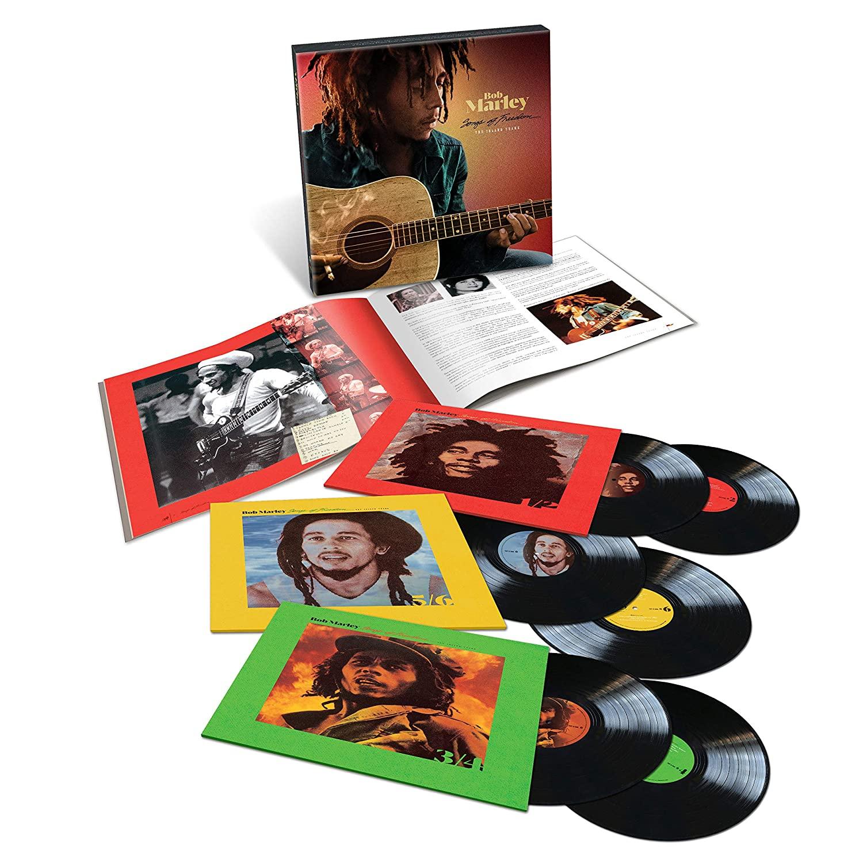 Bob Marley Songs of Freedom un coffret de 6 Vinyles LP 33 tours !
