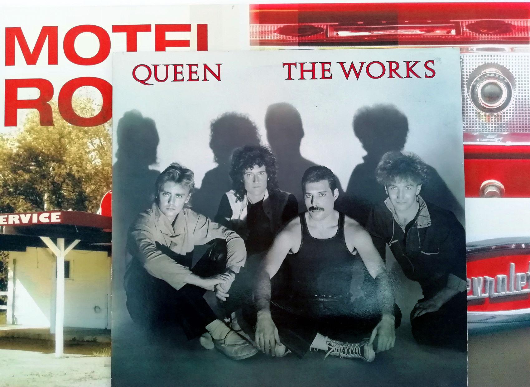 Vinyl Queen - QUEEN THE WORKS - Album vinyle