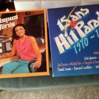 deux coffret disques vinyles